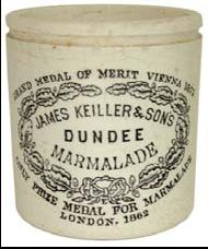 dating dundee marmalade jars History of dundee  kids encyclopedia  but jars of keiller's marmalade are still widely  as recipes for marmalade have been found dating back to the 16th.